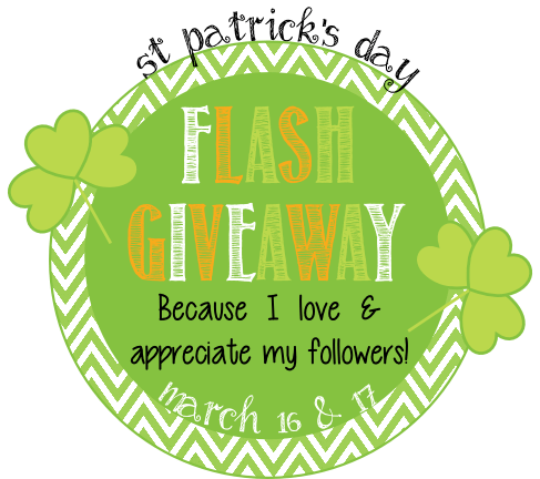 St Patrick's Day Flash Giveaway