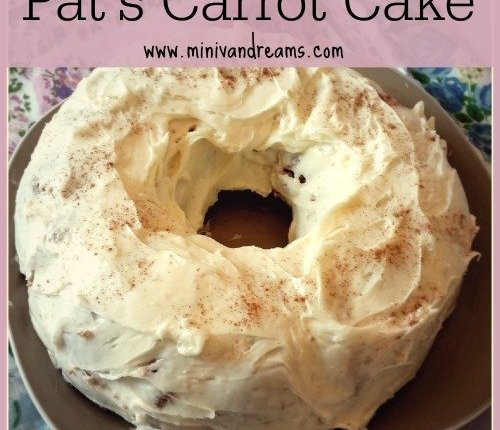 Easy Carrot Cake | Mini Van Dreams #easyrecipes #recipes #cake