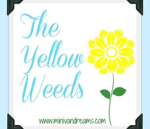 The Yellow Weeds via Mini Van Dreams #familymemories #funnyfamilystories