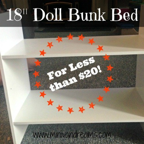 "18"" Doll Bunk Beds"
