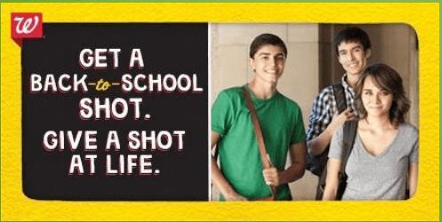 Get A Shot.  Give A Shot.    Mini Van Dreams #socialgood #shotatlife