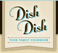Dish Dish Online Cookbook | Mini Van Dreams #organize recipes #recipes #cookbook #prfriendly
