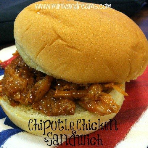 Chipotle Chicken Sandwich | Mini Van Dreams #easyrecipes #recipes #recipesforchicken