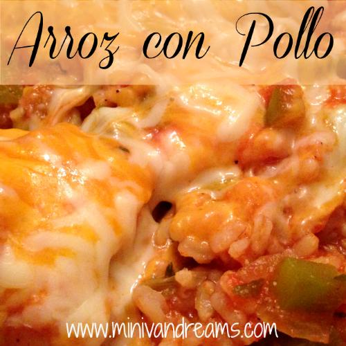 Arroz con Pollo   Mini Van Dreams #recipes #easyrecipes #recipesforchicken