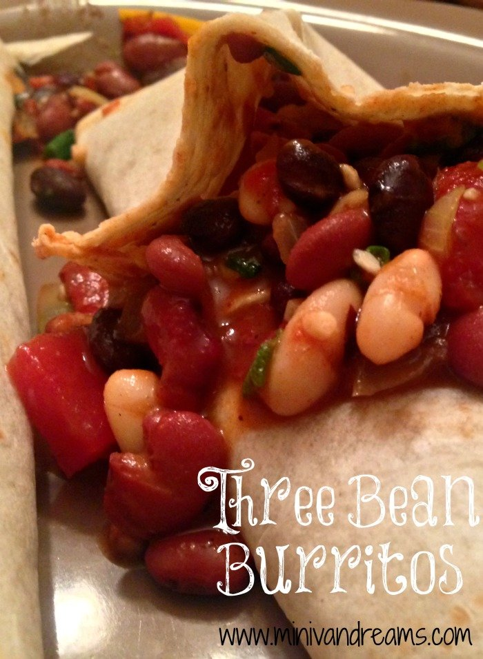Three Bean Burritos | Mini Van Dreams