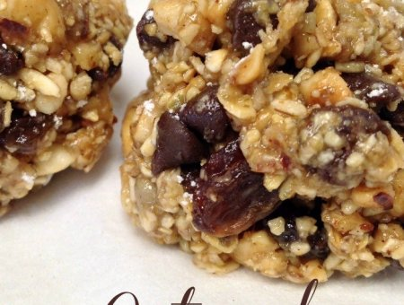 No Bake Oatmeal Power Balls