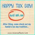 Happy Tax Day! | Mini Van Dreams