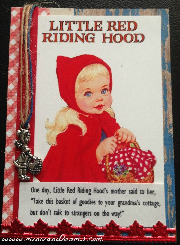 Fairy Tale ATCs: Little Red Riding Hood