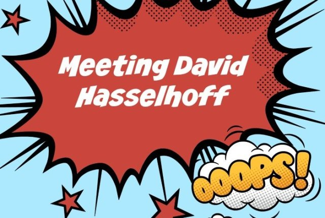 Meeting David Hasselhoff | Mini Van Dreams