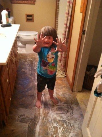 The Long Awaited Baby Powder Story #TBT | Mini Van Dreams