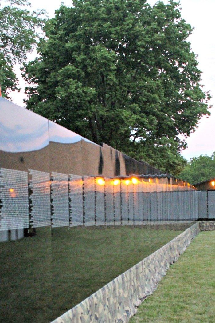 The Traveling Vietnam Memorial Wall | Mini Van Dreams