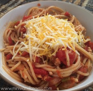 Taco Spaghetti | Mini Van Dreams
