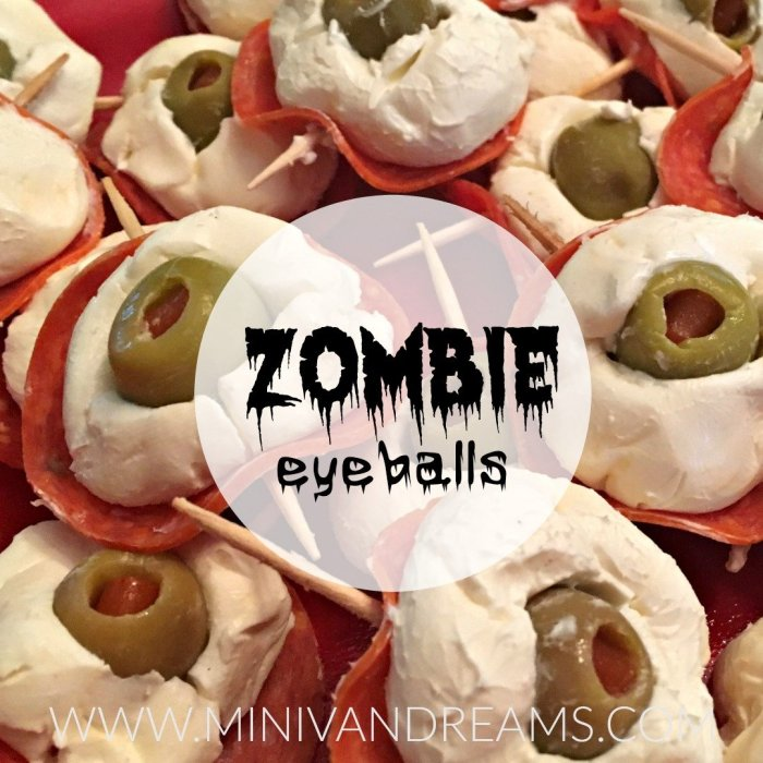 Zombie Eyeballs | Mini Van Dreams