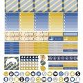 Free Printable Planner Stickers - Ravenclaw | Mini Van Dreams