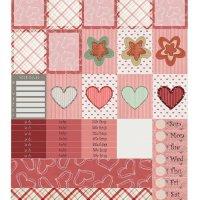 Free Printable Planner Stickers: Be My Valentine