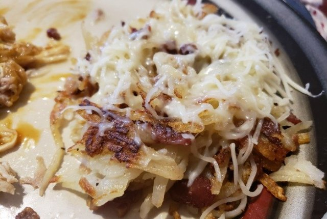 Swiss Cheese Rosti Potatoes | Mini Van Dreams
