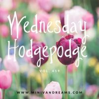 Wednesday Hodgepodge Vol. 419