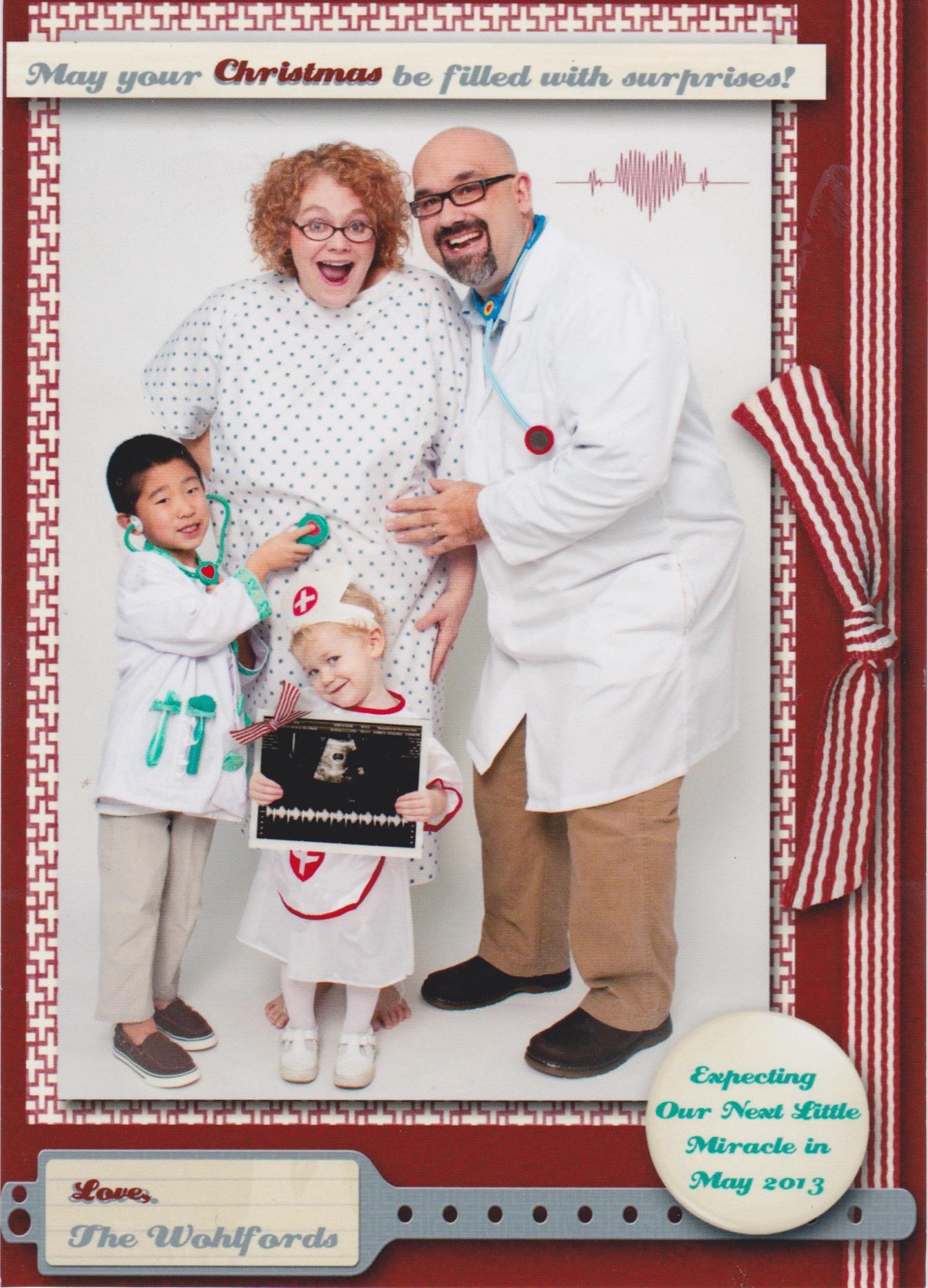 Crazy Christmas Card Greetings Minivan Ministries