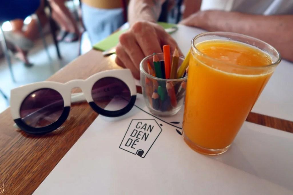 Best brunch in Barcelona @minkaguides Can Dendê pencils