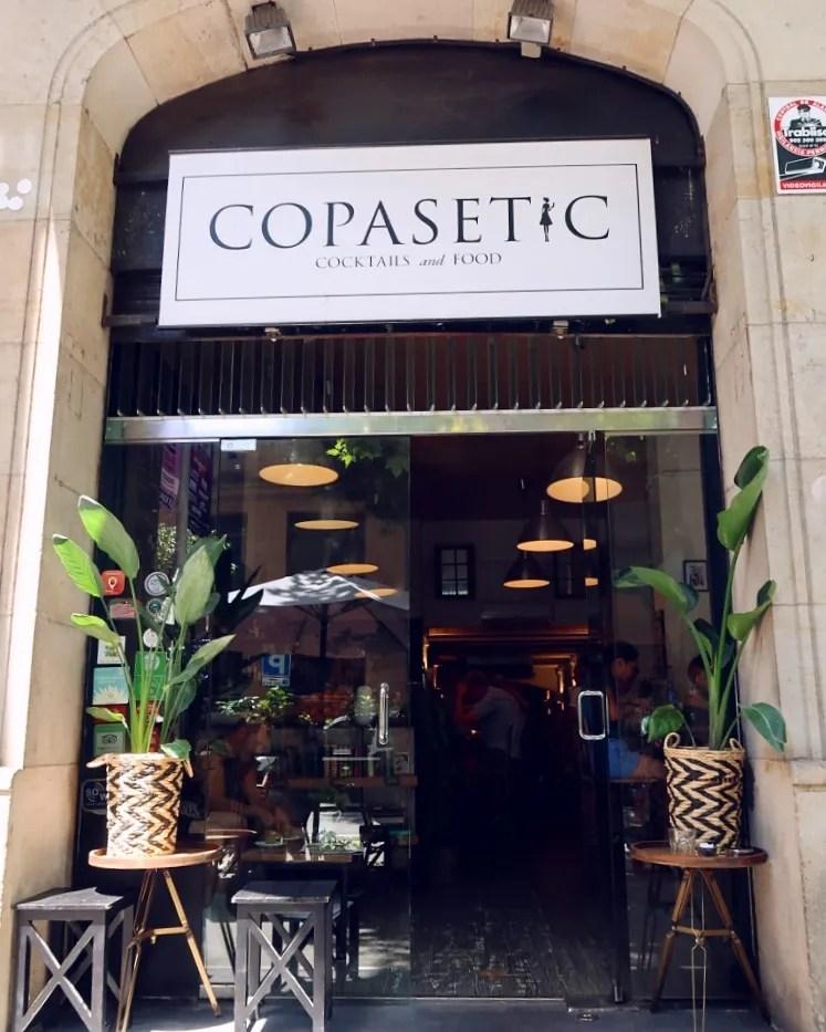 Best brunch in Barcelona @minkaguides Copasetic exterior
