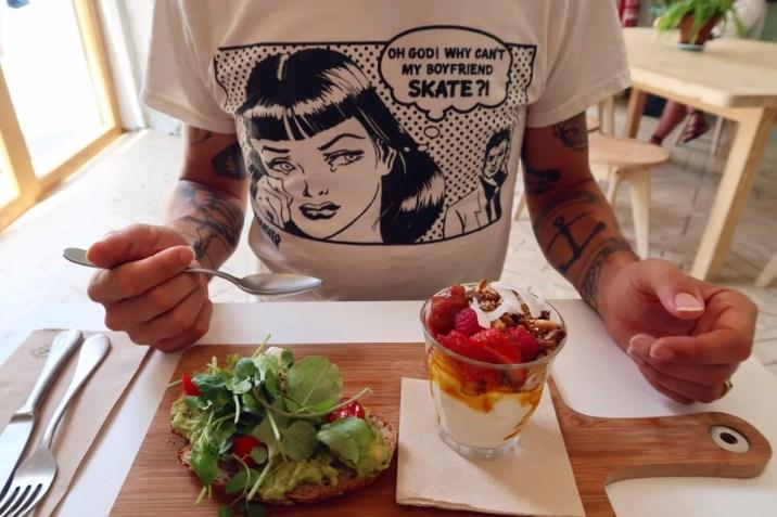 Best brunch in Barcelona @minkaguides Little Fern Breakfast Board