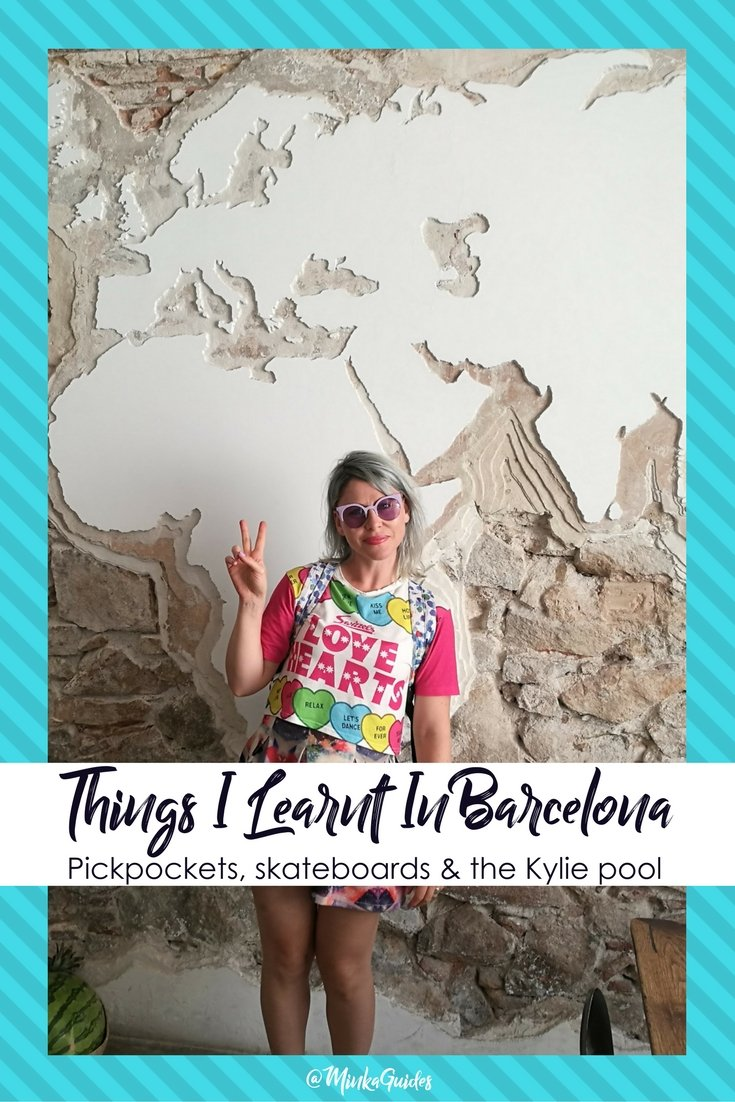 Things I learnt in Barcelona @minkaguides