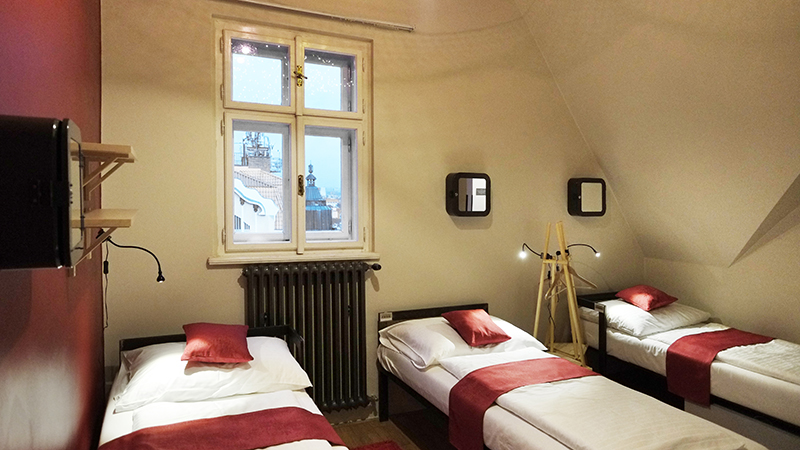 Czech Inn Prague review @hostelworld room