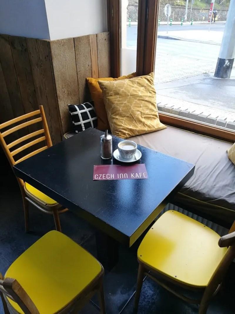 Czech Inn Prague review @minkaguides front cafe