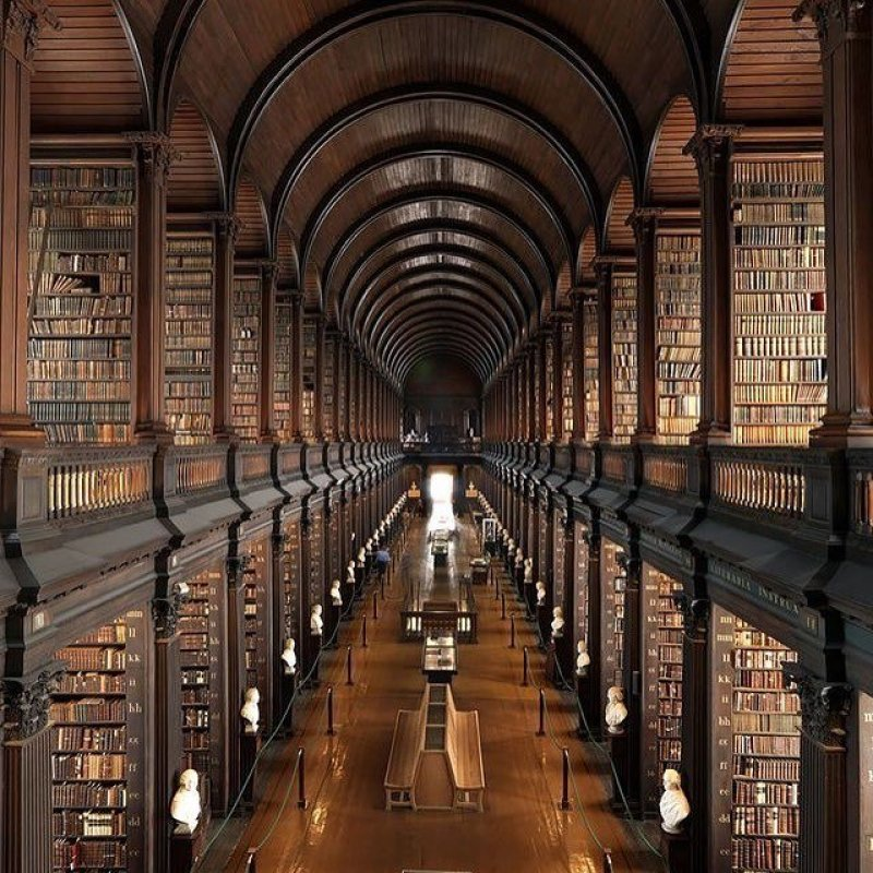 Things to do in Dublin @iwannatraveltheworld The Long Room