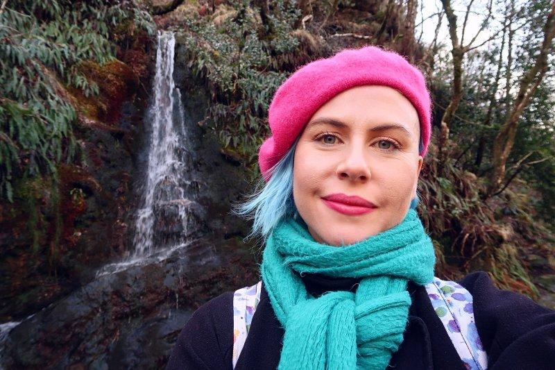 Wicklow Mountains day trip from Dublin @minkaguides Glendalough selfie 1