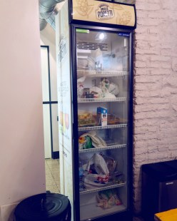 Review The Yellow Hostel Rome @minkaguides fridge