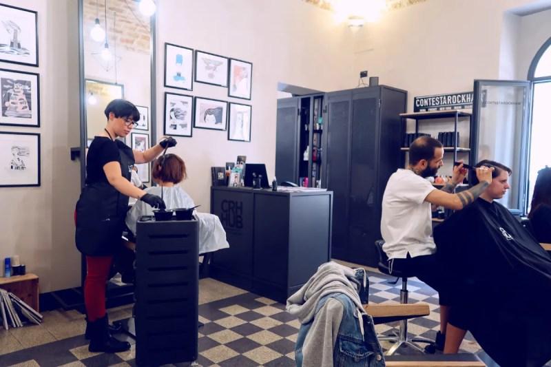 Review The Yellow Hostel Rome @minkaguides salon