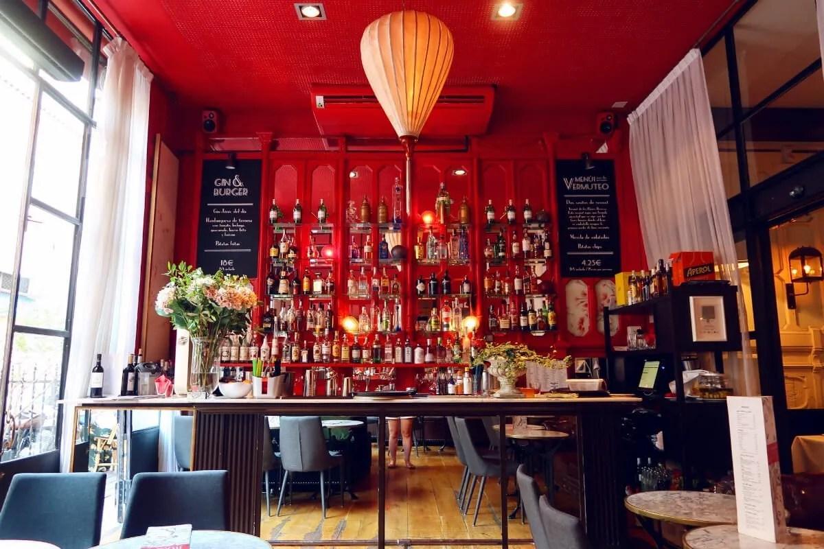 Bar-Rosso-cocktail-bar Market Hotel Barcelona CREDIT Minka Guides