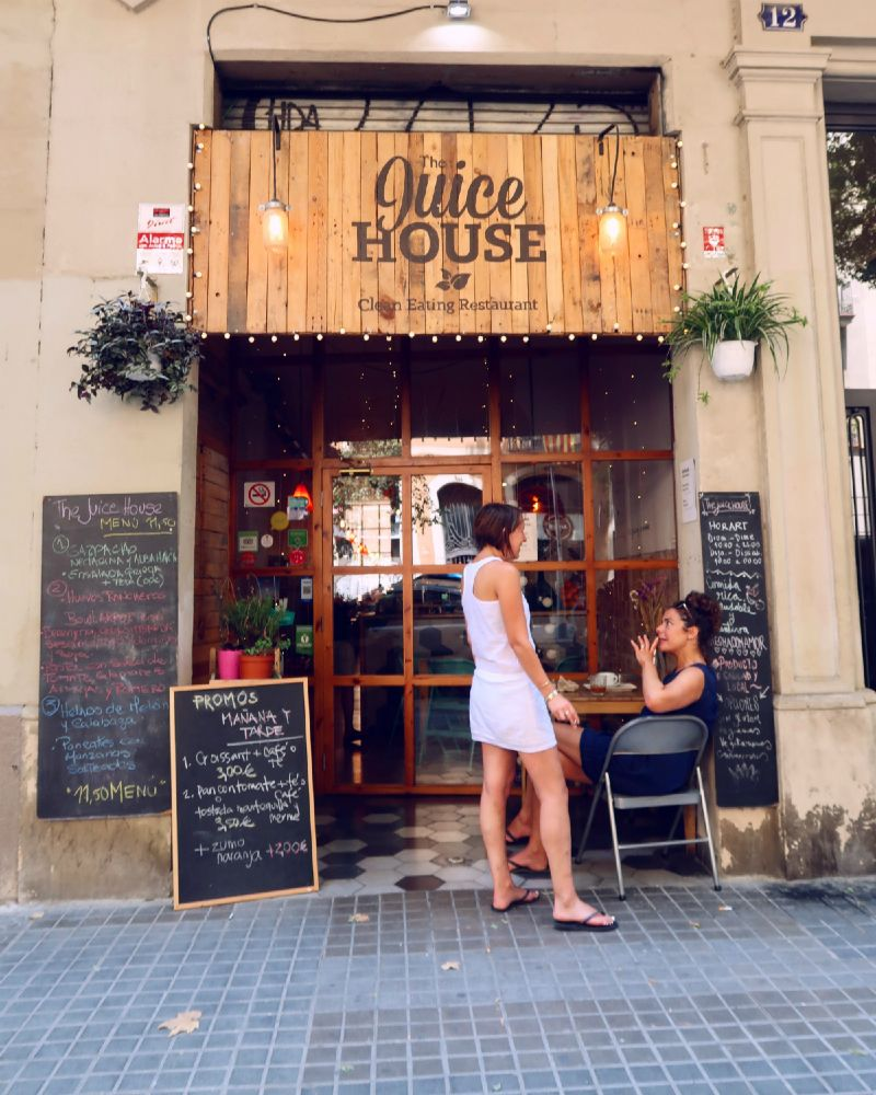 Gluten-free Barcelona The-Juice-House-exterior CREDIT Minka Guides