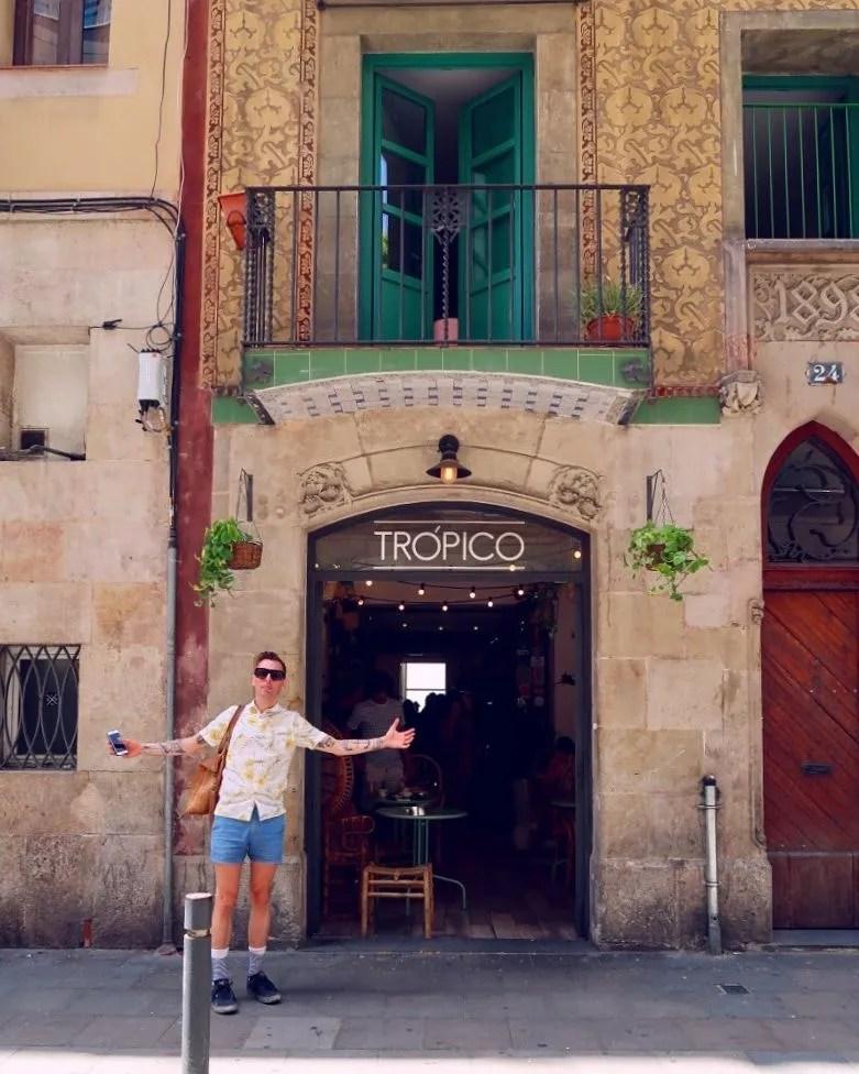 Gluten-free Barcelona Tropico-exterior CREDIT Minka Guides
