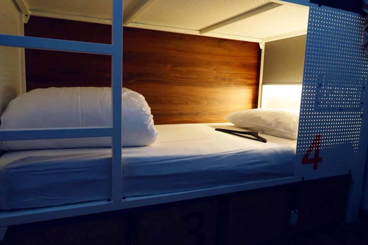 Generator Hostel Madrid @minkaguides female dorm bed
