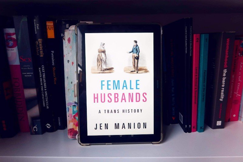 Book recommendations spring 2020 Female Husbands Jen Manion CREDIT Minka Guides