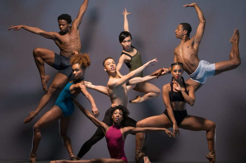 Winter in London @barbican Ballet Black