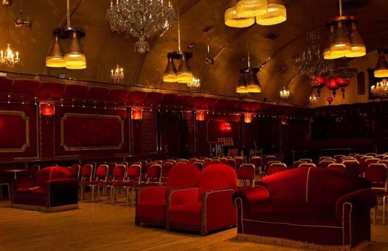 Winter in London @croftonparkpictures Rivoli Ballroom po-up cinema