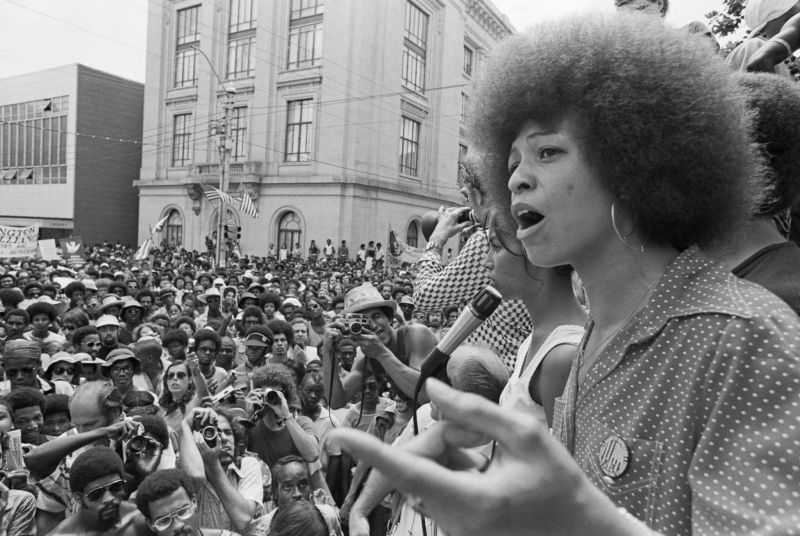 Winter in London Bettmann Archive Angela Davis