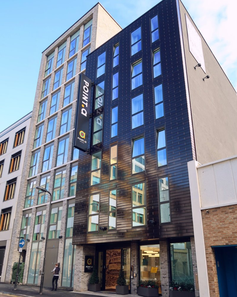 Point A Hotel London Shoreditch @minkaguides exterior