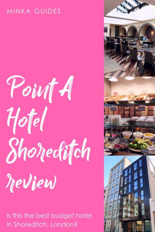 Point A Hotel London Shoreditch @minkaguides