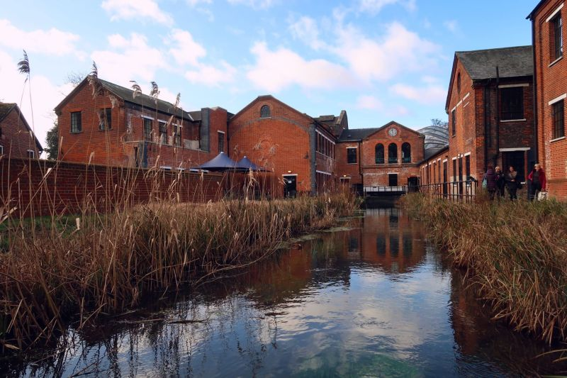 Bombay Sapphire Distillery tour @minkaguides Laverstoke Mill