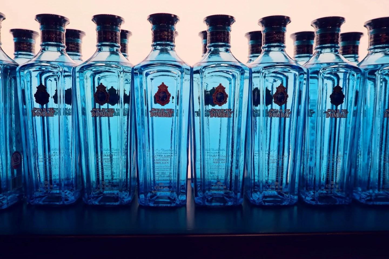 Bombay Sapphire Distillery tour @minkaguides Mill Shop bottles