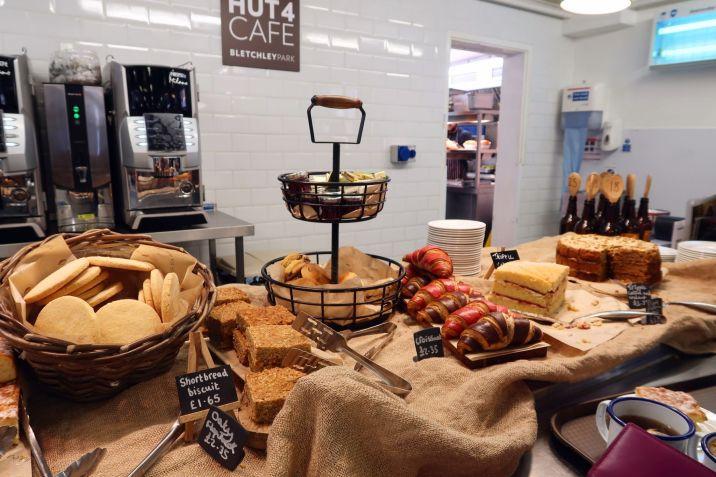 Bletchley Park Museum Hut 4 cafe interior CREDIT_ © Minka Guides