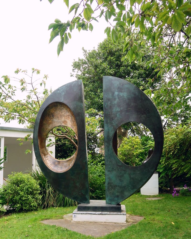 Cornwall itinerary - Barbara Hepworth sculpture garden CREDIT Minka Guides