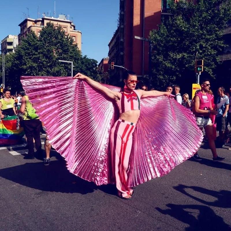 Barcelona Pride 2018 Miss Bambi CREDIT Minka Guides