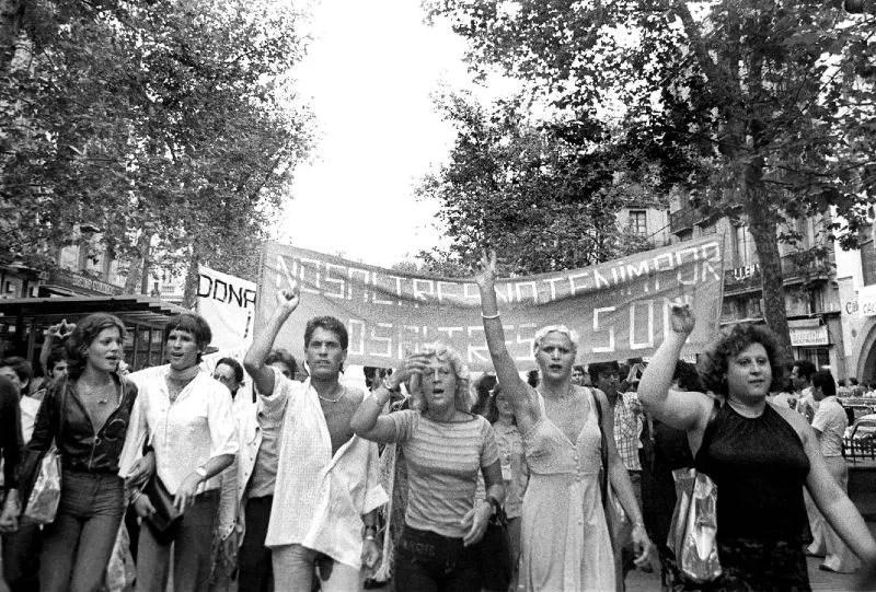 Barcelona Pride first Barcelona Pride march June 26 1977 CREDIT Colita Isabel Steva i Hernández