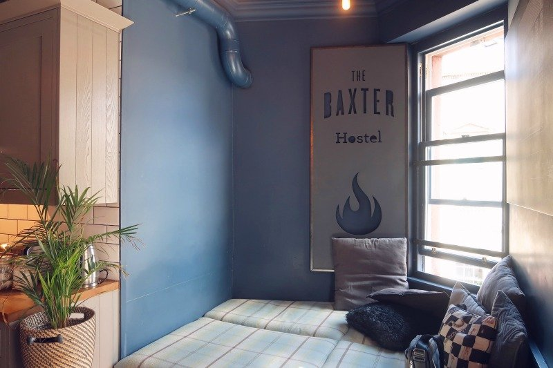 The Baxter Hostel Edinburgh lounge nook CREDIT Minka Guides_picmonkeyed