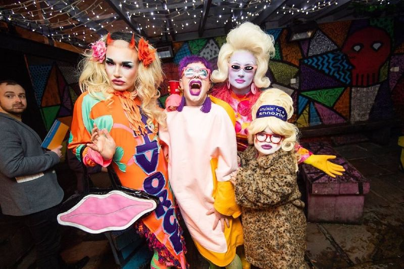 UK queer hubs LGBT events Birmingham Shout Festival 2019 CREDIT Midlands Zone